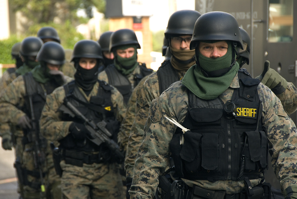 SWAT team Source: wikipedia