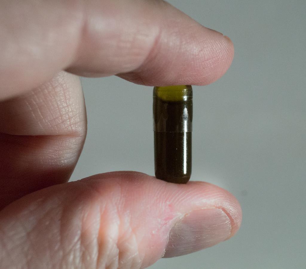 Frankenstein oil capsule Copyright 2015 BeyondChronic.com